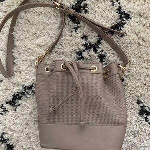 Handbags - Gold detail bucket bag